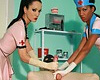Latex nurses expand every hole  the test subject is ready to be brought in to the examination room  the two latex clad nurses laugh and smile as he gets dragged in against his will  today every hole of his body will be expanded but first the sadistic nurs. The test subject is ready to be brought in to the examination room. The two latex clad nurses laugh and smile as he gets dragged in against his will. Today every hole of his body will be stretched but first the sadistic nurses need to snap on their latex gloves and shine their uniforms.